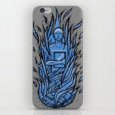 fahrenheit 451 - bradbury blue variant iPhone Skin