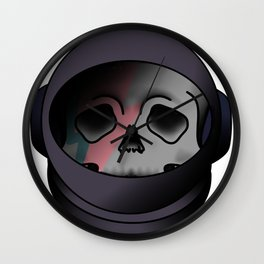 starman helmet Wall Clock