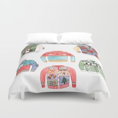 Ugly Sweaters Duvet Cover