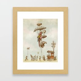 A Day at The Fair  Framed Art Print