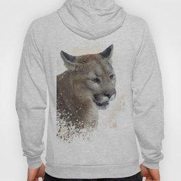 Florida panther or cougar digital painting Hoody