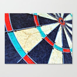 Dartboard Canvas Print