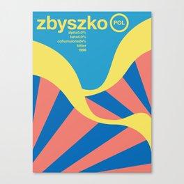 zbyszko single hop Canvas Print