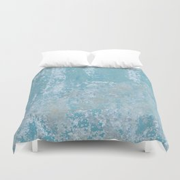 Vintage Galvanized Metal Duvet Cover