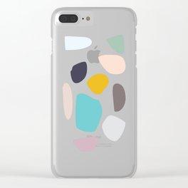 happystones Clear iPhone Case