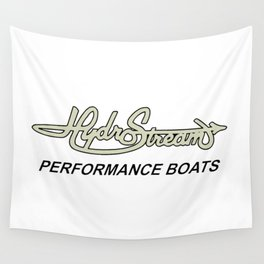 Hydrostream Boats Wall Tapestry