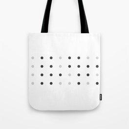 Binary love minimalist Tote Bag