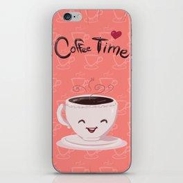Coffe time! iPhone Skin