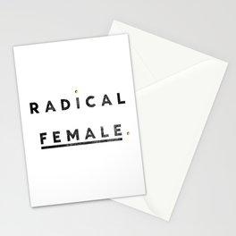 Radical Female Stationery Cards