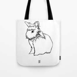 Boss Rabbit Tote Bag