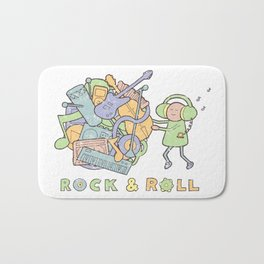 Katamari Rock & Roll Bath Mat