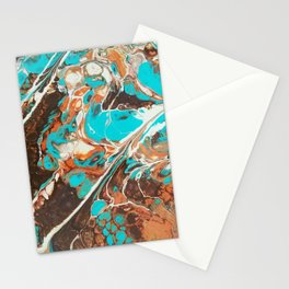 Natural Stones Series Turquoise Stationery Cards