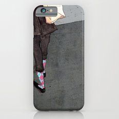 Argyle Socks by Kat Mills iPhone 6s Slim Case