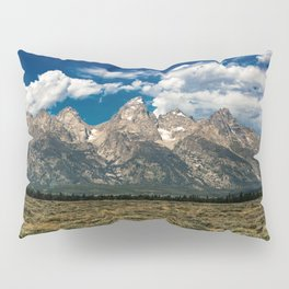The Grand Tetons - Summer Mountains Pillow Sham