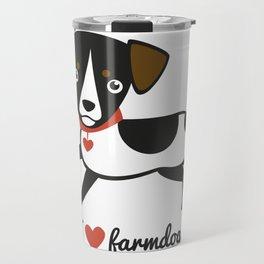 I love farmdogs Travel Mug