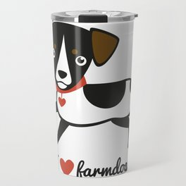 I love farmdogs Travel Mug