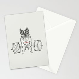 Frenchie Lift Stationery Cards