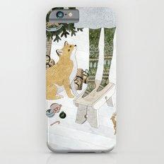 Christmas tree decorating Slim Case iPhone 6s