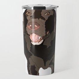 Chocolate Lab Travel Mug