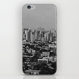 Black and White Brazil iPhone Skin