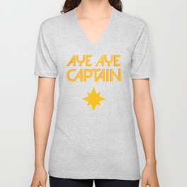 O captain! My captain! - Carol Danvers Unisex V-Neck
