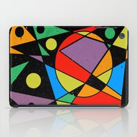 kandinsky iPad Cases featuring Abstract #130 by Ron Trickett