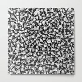 White pawns Metal Print