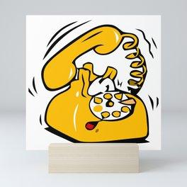Ringing Phone Mini Art Print