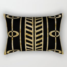 Art deco design II Rectangular Pillow