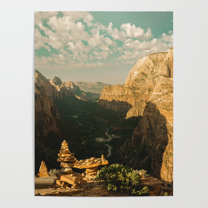 Zion Mornings - National Parks Nature Photography Poster