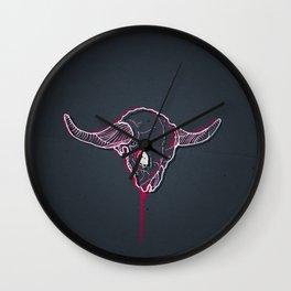 The Minotaur Wall Clock