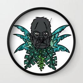 Gorilla in the Jungle[Multicolored] Wall Clock