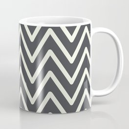 Chevron Wave Asphalt Coffee Mug