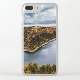 Canyon river Clear iPhone Case