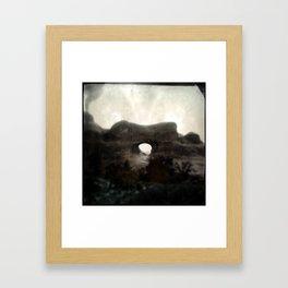 Tunnel Arch Framed Art Print