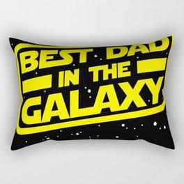 Best dad in the galaxy Rectangular Pillow