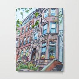 Prospect Heights Brooklyn Brownstone Metal Print