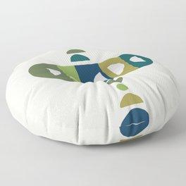 Storm Calka Green Space Floor Pillow