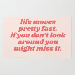 life moves Rug