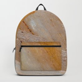 Golden mountain slopes Backpack