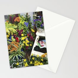 Always good to have a few flowers around the kitchen! Stationery Cards