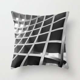 Functional Geometry Throw Pillow