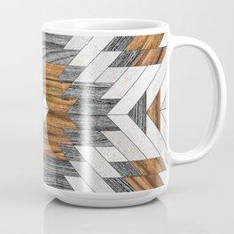Urban Tribal Pattern 8 - Aztec - Wood Coffee Mug