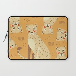 Cheetah, African Wildlife Laptop Sleeve