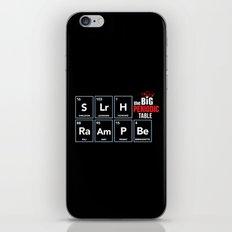 The Big (Bang) Periodic Table iPhone & iPod Skin