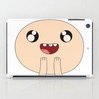 finn iPad Cases featuring Adventure - Finn by Alessandro Aru