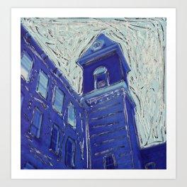 Mass MoCA Clocktower Art Print