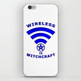 Wireless is Witchcraft iPhone Skin