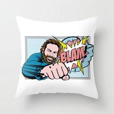 Bud Spencer Pop Art Throw Pillow
