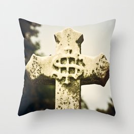 God Money Throw Pillow